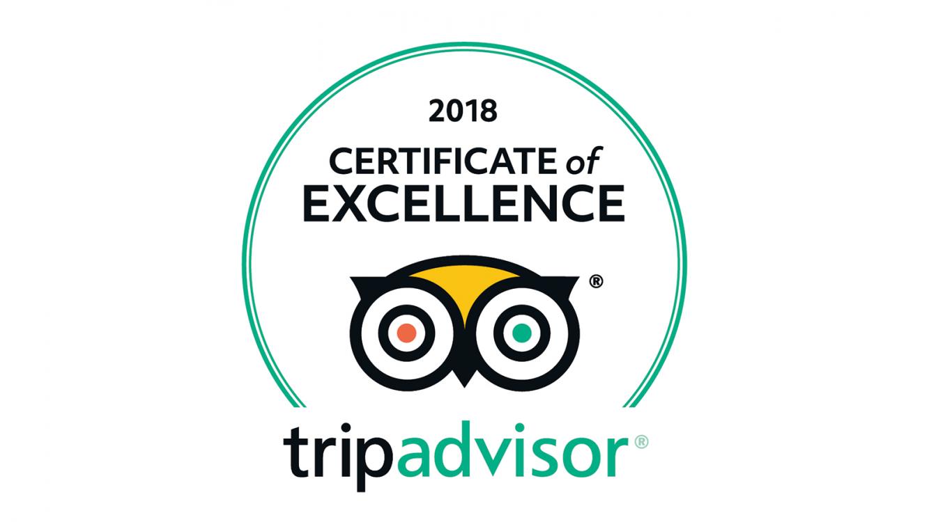 Beechhillhotel Certificate Of Excellence 2018